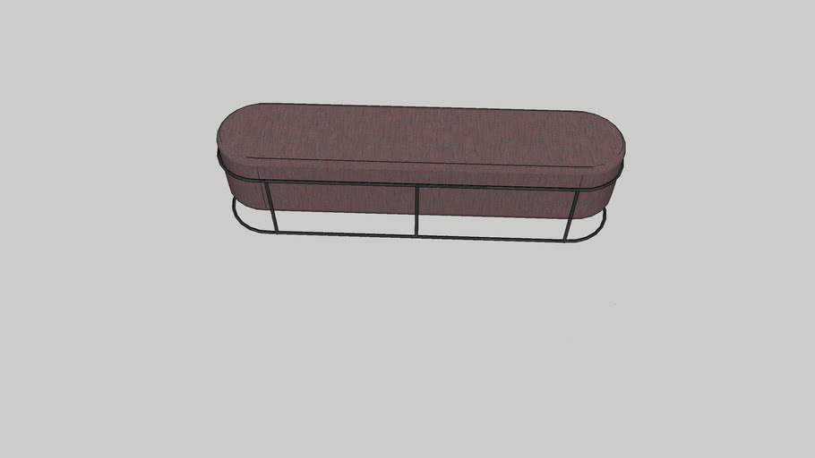 Drop bench by COR 170cm