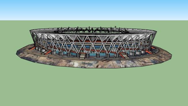 Jawaharlal Nehru Stadium, New Delhi(oldupdate)
