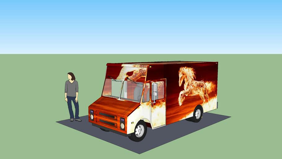 "Step Van ""fire horse"""