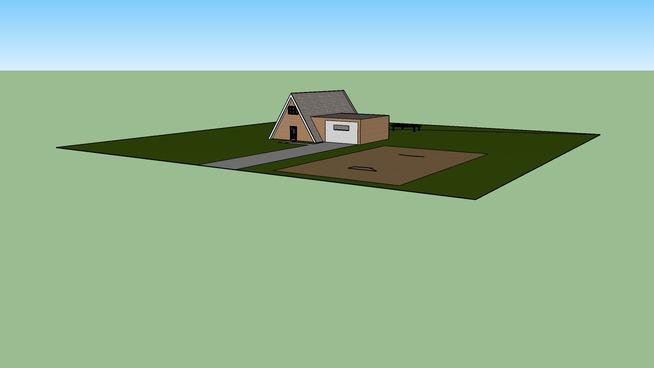 a-frame house