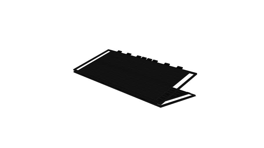Bi-fold Hangar Door_Open