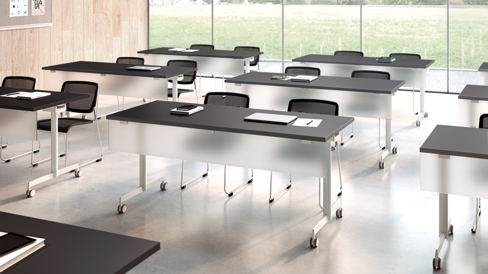 mobile conference table