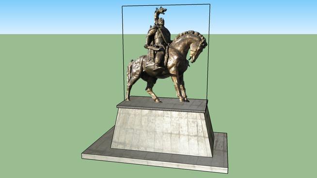 Statuie Decebal