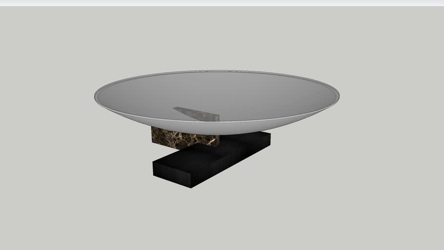 VESTALE-COCKTAIL TABLE - EMPERADOR base