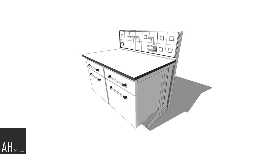 Laboratory casework - Worktop Doors and Drawers
