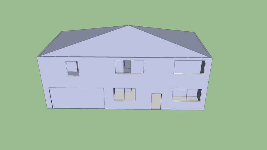 A Modern Jefferson House Model