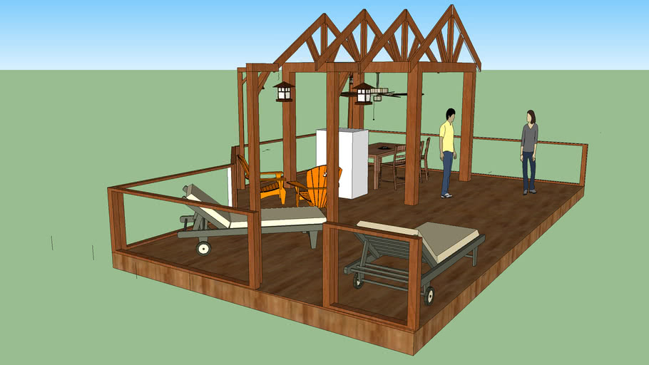 Sample Deck Design from Hugo Home Services