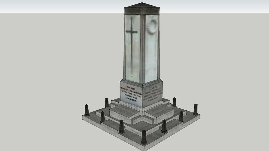 chelmsford first world war memorial