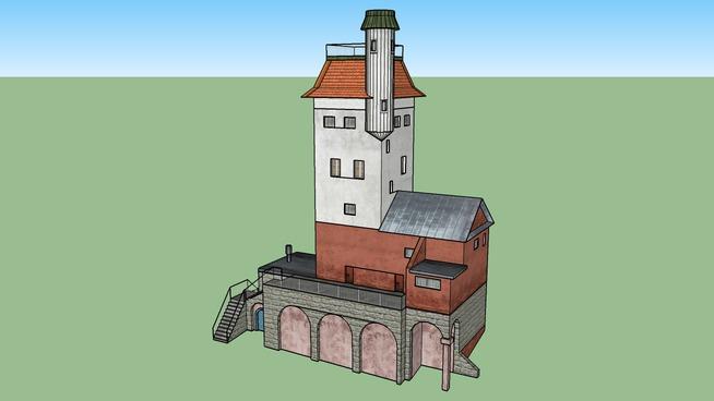 Wieża Bismarcka w Lęborku (Bismarckturm Lauenburg)