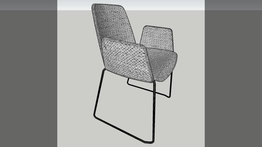 inclass unnia tapiz armchair