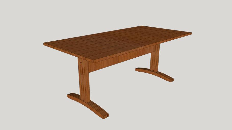 Shaker Tresel Table