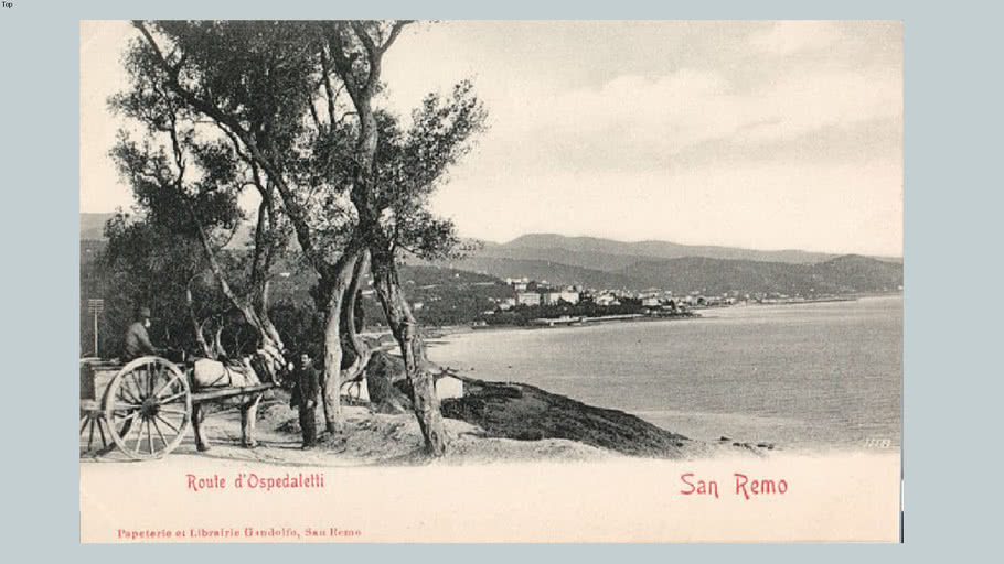 OLD ITALY - SANREMO 1887