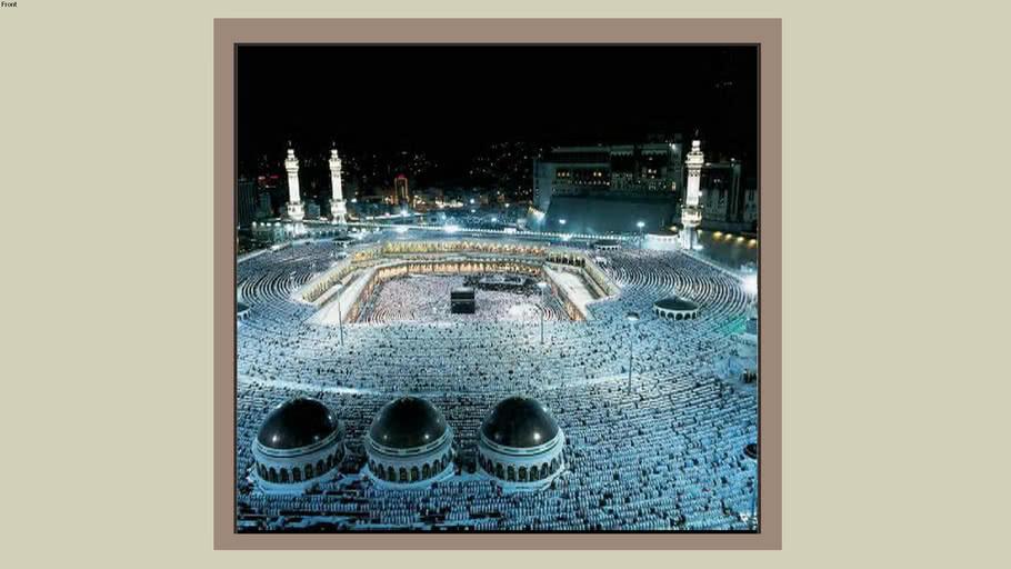 Holly Makkah Photo Frame 2