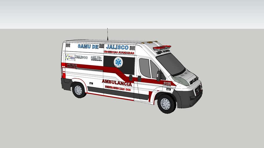 ambulancia samu de jalisco