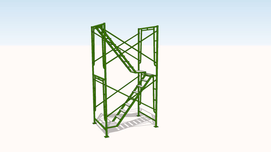 Dynamic Stair Tower
