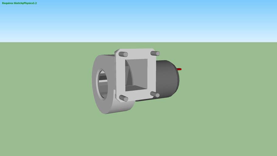 нагнетательный вентилятор (SketchyPhysics3.2)