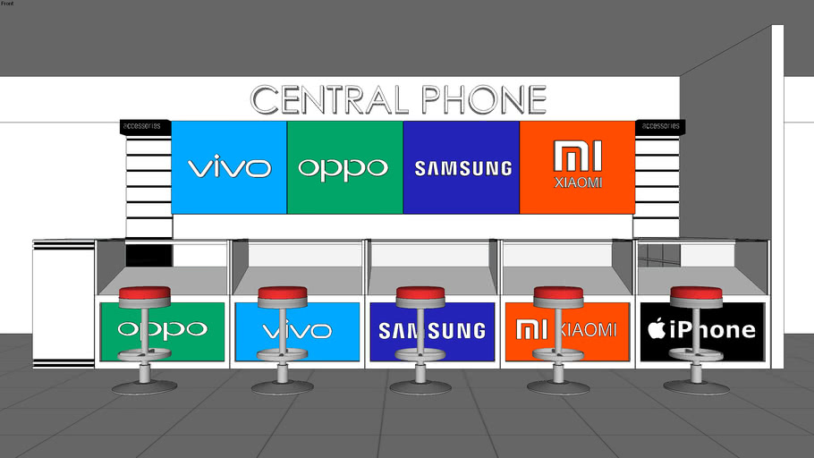 display store for mobile phone