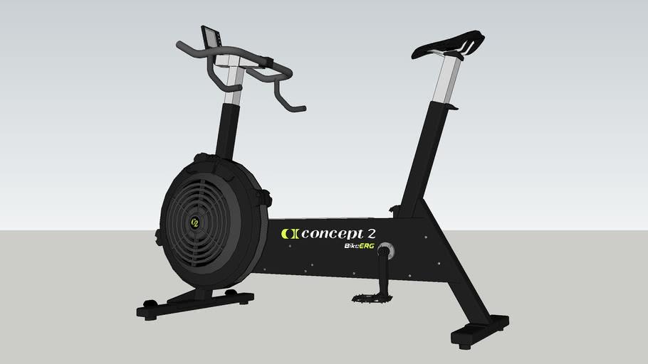 Concept 2. Exercise bike