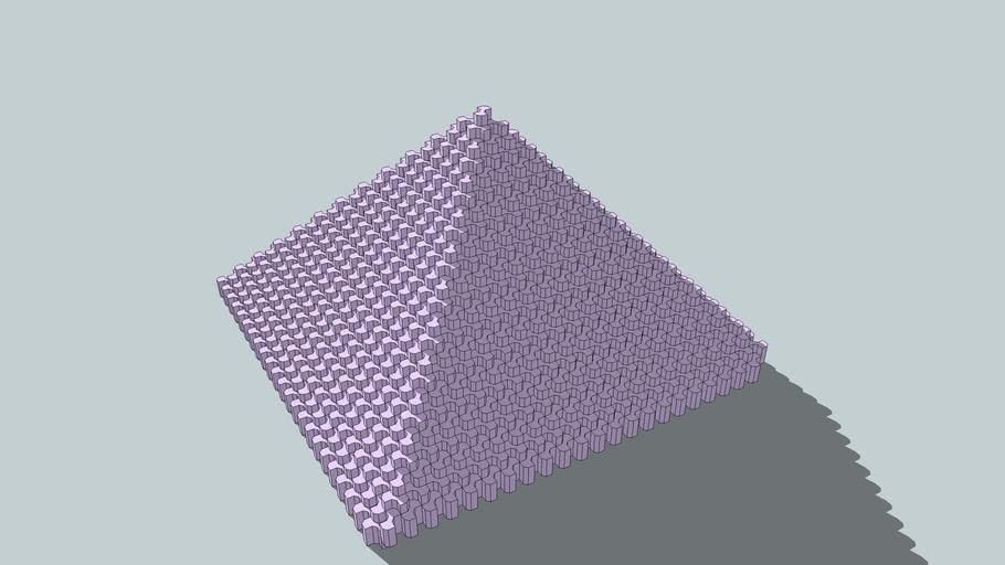 Tessellation Pyramid