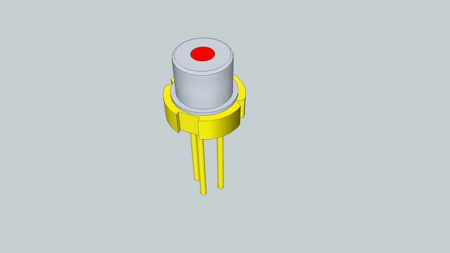 3.3mm laser diode