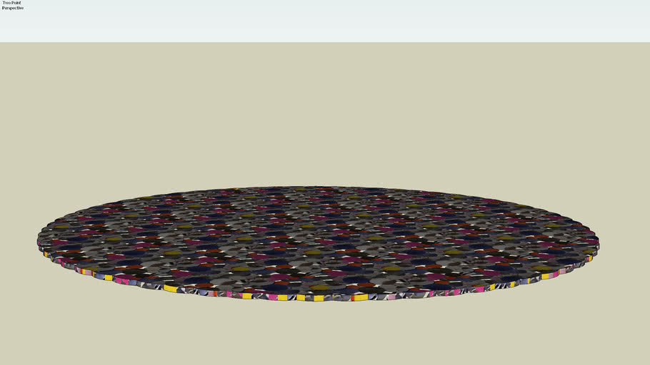 69826 Carpet Circle Multi 150 (Teppich Circle Multi 250)