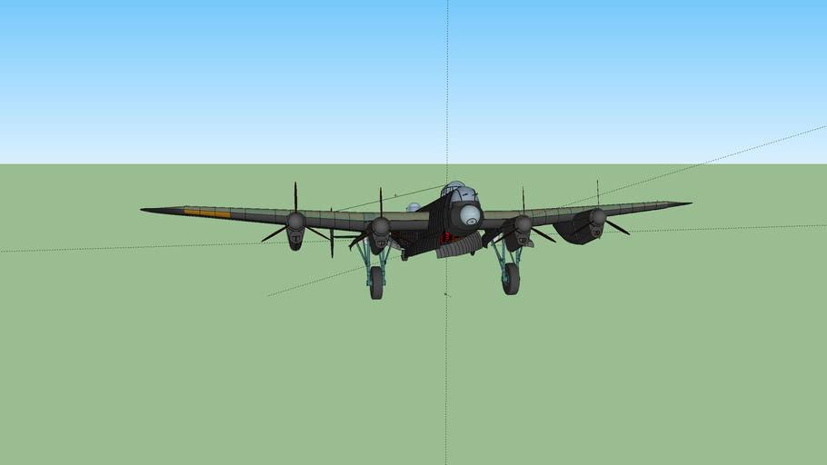 world war 2 avro lancaster bomber