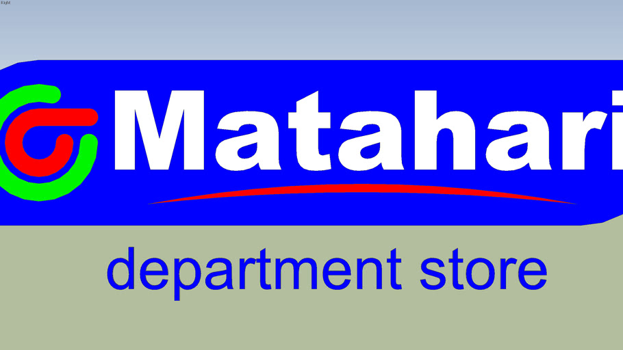 Matahari Department Store (Old Logo)