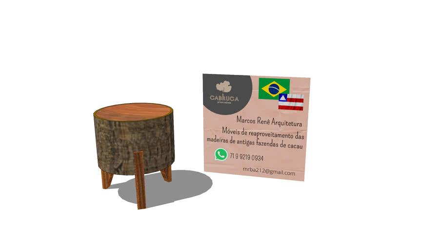Banco de madeira Ubaitaba Cabruca