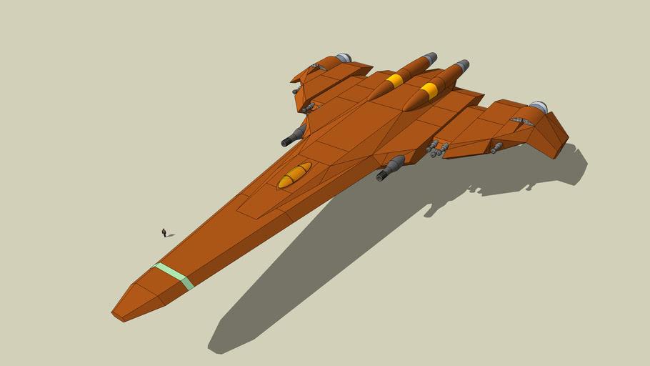 "XGJ T-47 ""Scarlet Thunder"" Assault Aircraft"