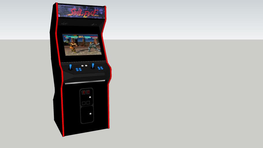 Soul Edge Arcade Game 3d Warehouse