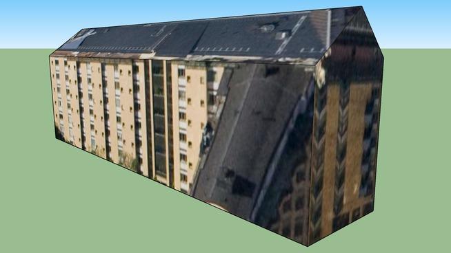 Building in Stockholm urban area