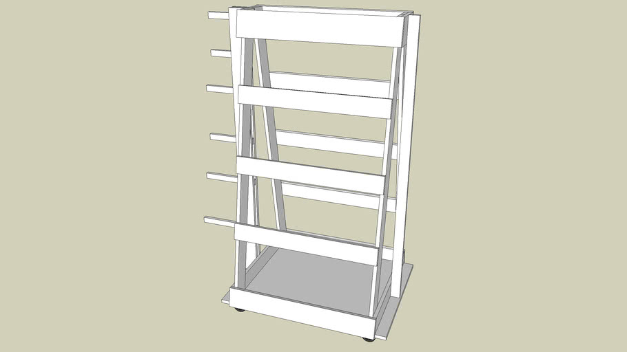 movable clamp rack