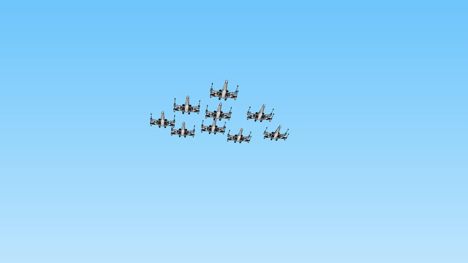 x wings formation