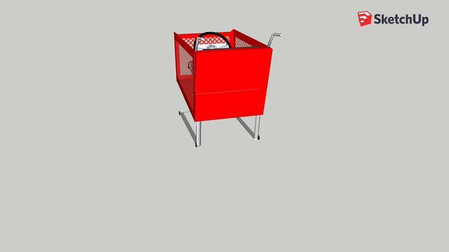 shopping cart rocket