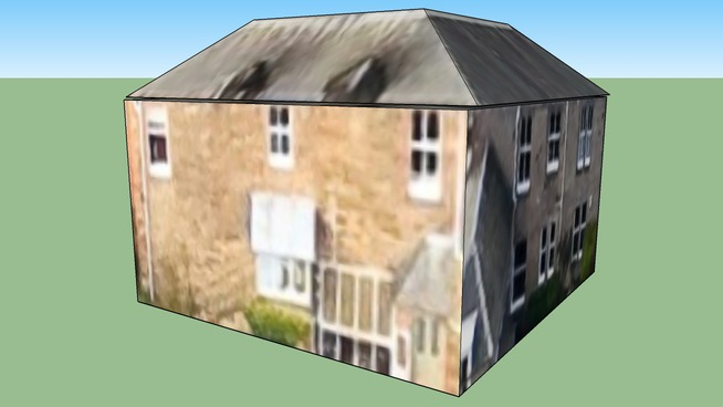 爱丁堡 中洛锡安(大不列颠)联合王国的建筑模型