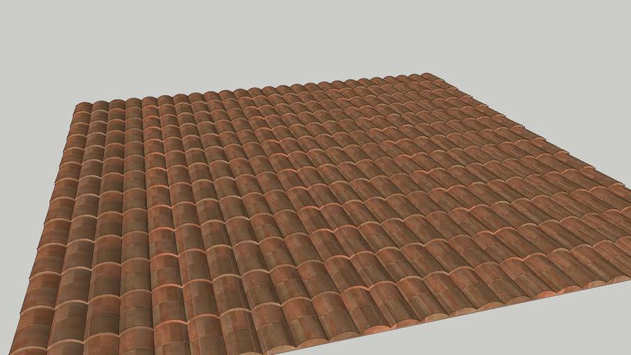 Roof Texture 3D