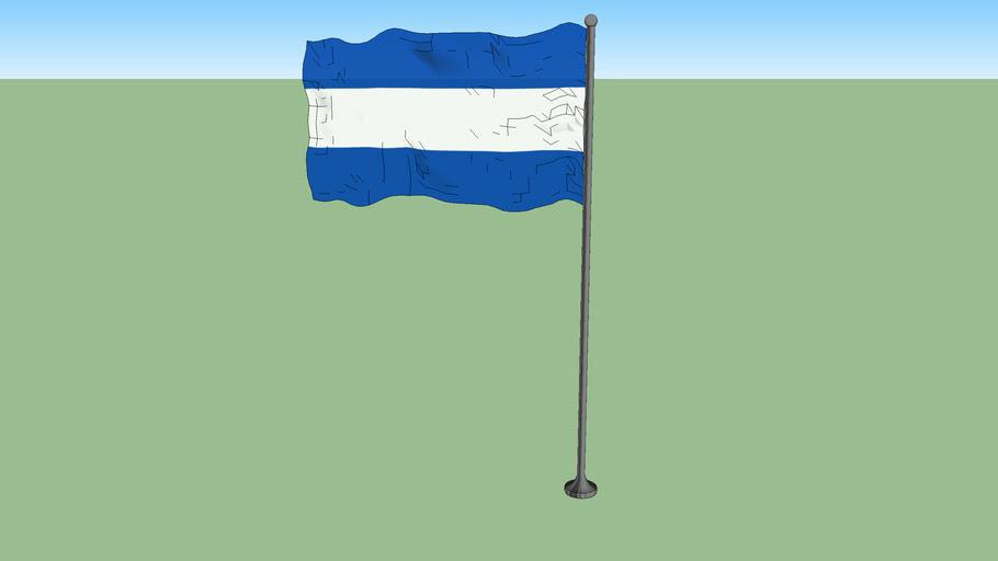 Civil flag of El Salvador