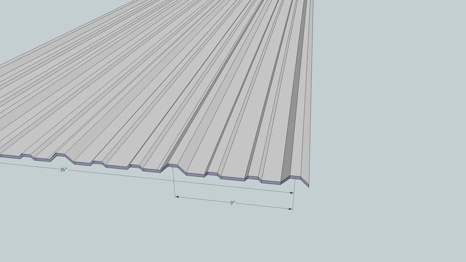 Panel-Loc Sheet Metal Panel