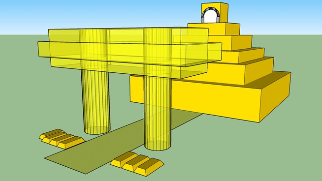 Aztec Temple of Gold