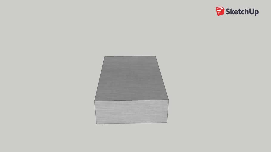 3d aluminum box