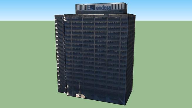 Edificio de Endesa en Santiago de Chile