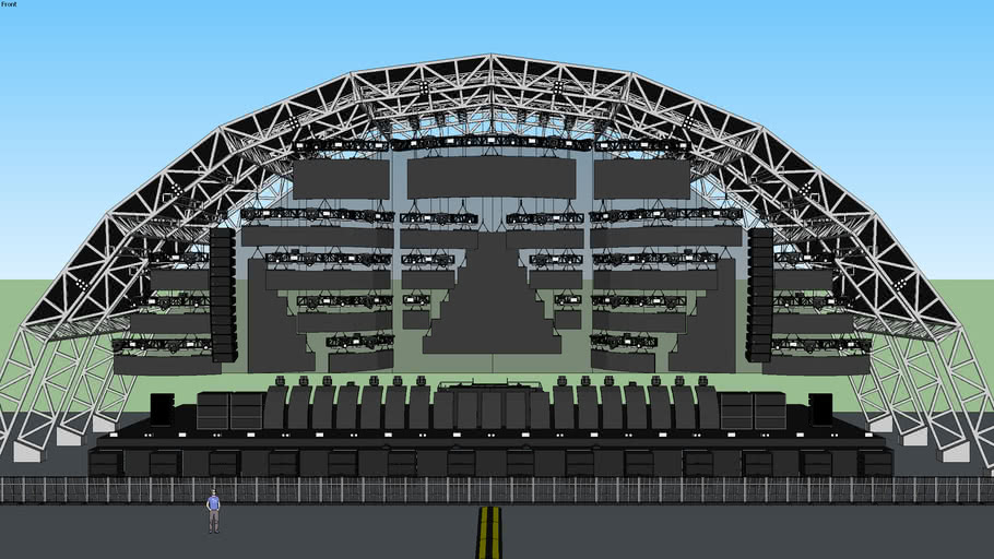 DJ Stage (own desing)