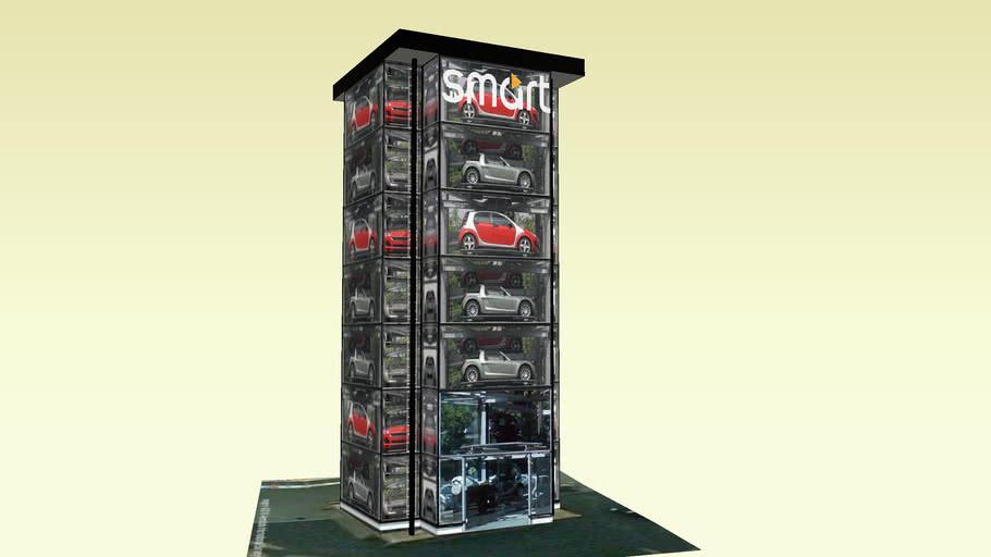 SMART CAR TOWER UTRECHT