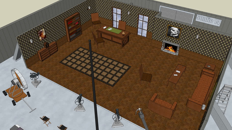 Don Vito Corleone's Office / Studio