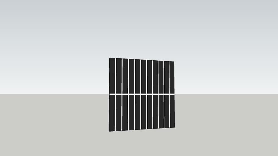 Mosaic tile black