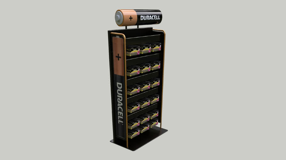 DURACELL DISPLAY STAND