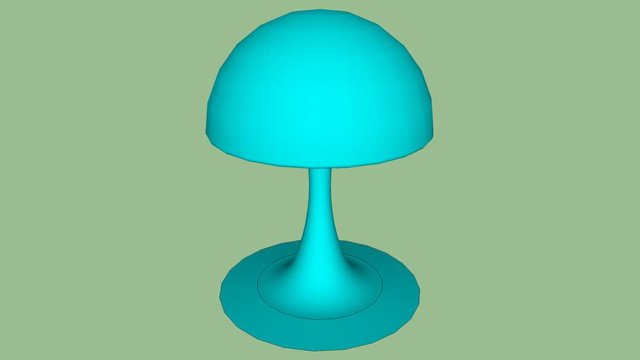 lampe originale bleue