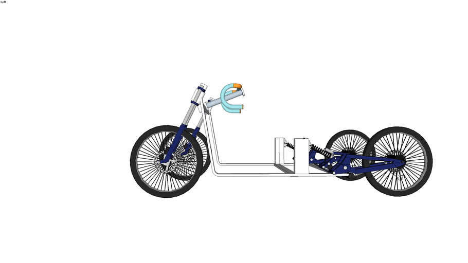 four wheel Electric cycle