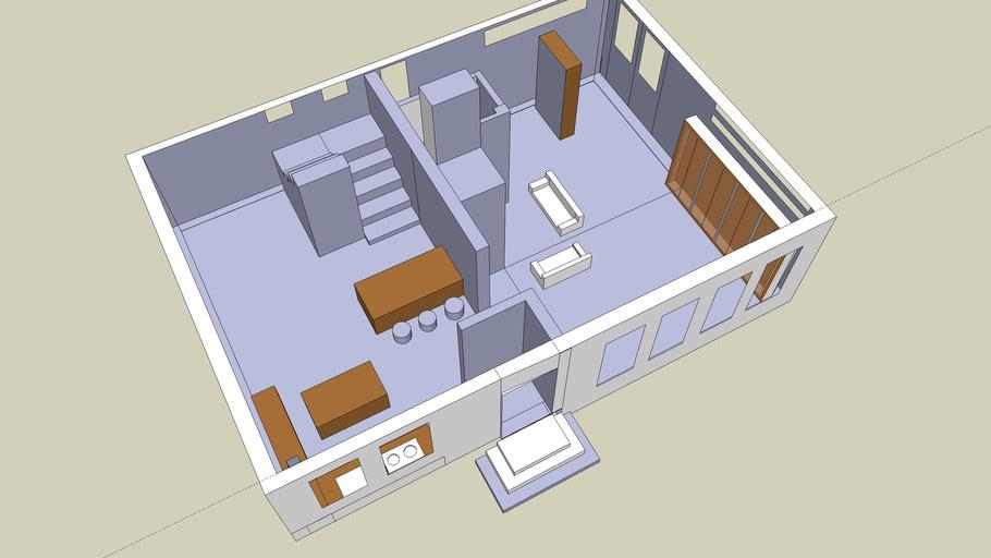 groud floor-villa