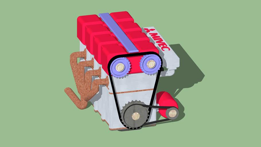 stock engine mitsubishi mivec